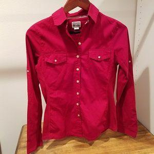 Converse button up shirt